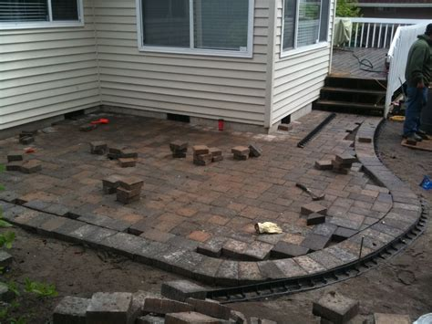 paver patio drainage paver patio drainage dover bay special additions