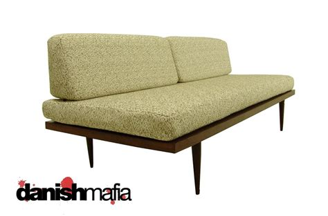 mid century modern sofa bed mid century modern sofa couch day bed lounge eames era