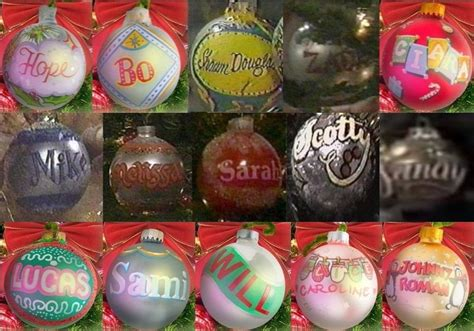 days of our lives christmas ornaments christmas decore