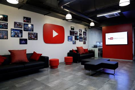 youtube home design shows youtube space mumbai lets content creators from india