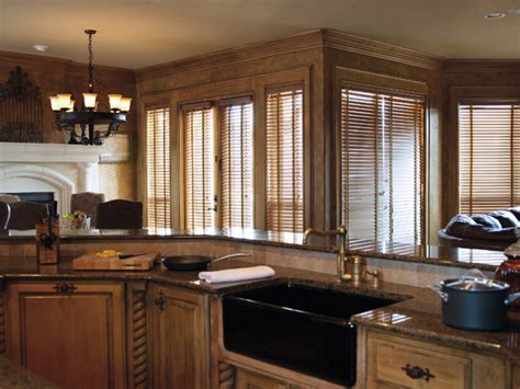 Kitchen Blinds Wooden Wood Blinds For Doors Modern Kitchen By