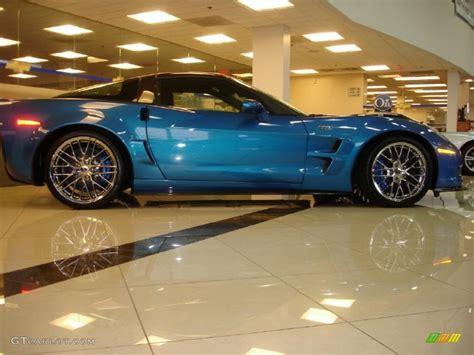 2010 Jetstream Blue Metallic Chevrolet Corvette Zr1