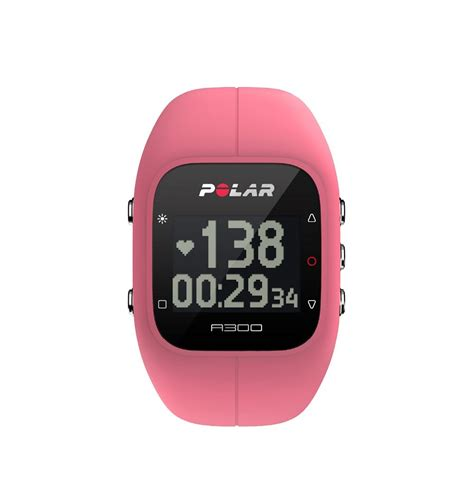 polar a300 color pink fitness and activity monitor