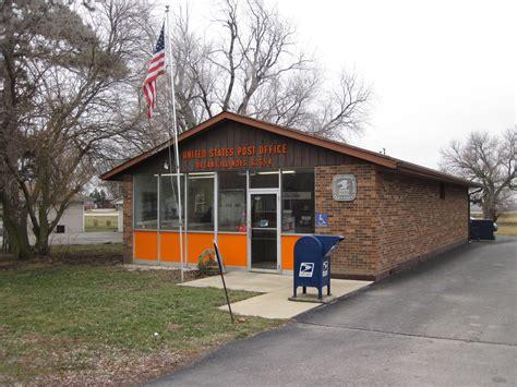 Post Office Normal Il by Oreana Illinois Post Office Post Office Freak