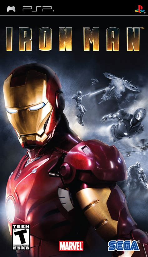 theme psp iron man iron man for playstation 2 2008 mobygames