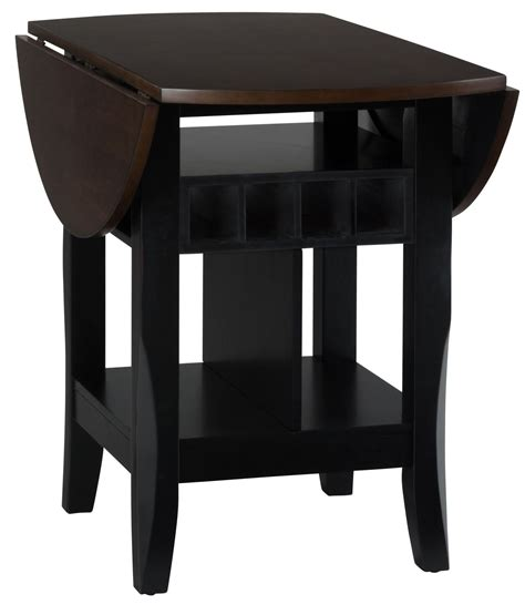 Counter Height Drop Leaf Table Braden Antique Black 48 Quot Extendable Drop Leaf Counter Height Dining Table 272 48 Jofran
