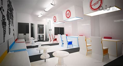 layout of travel agency office make my trip travel office design on behance