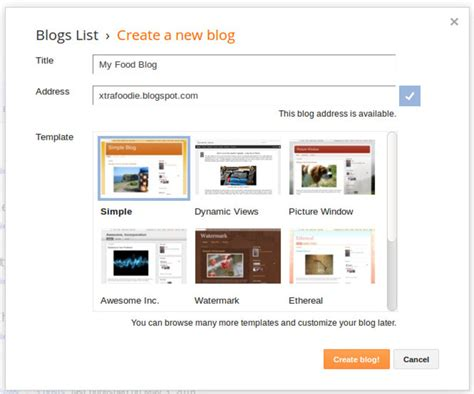 blogger custom domain how to create blogger blog with custom domain