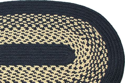 navy blue braided rugs river navy braided rug