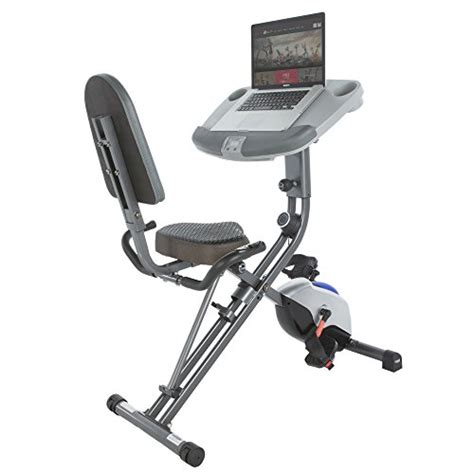 laptop workout desk and recumbent bike exerpeutic workfit 1000 desk station folding semi