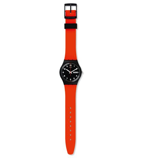 red swatch red grin gb754 swatch 174 international