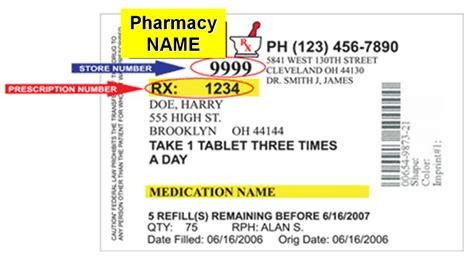 prescription bottle label template changes in prescription labels could cut on confusion