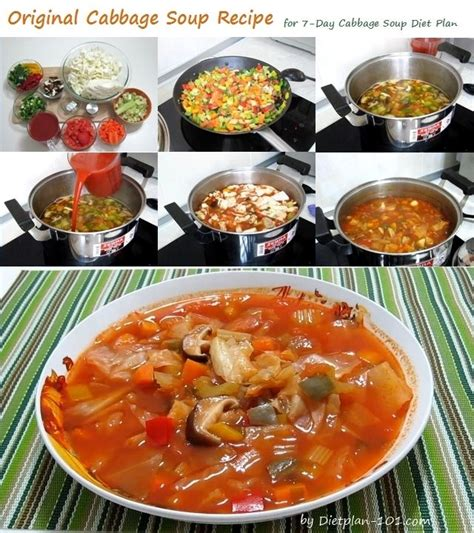 Vegetable Soup Detox Diet Plan by Best 25 Cabbage Soup Diet Ideas On Cabbage