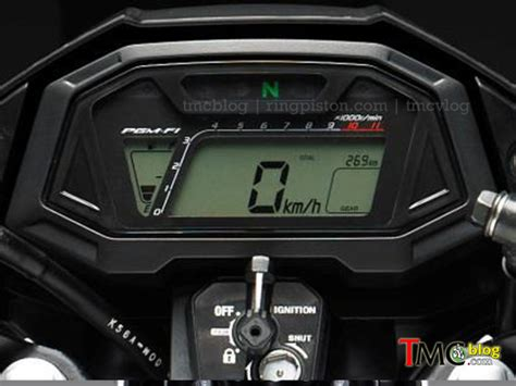 Speedometer Cs1 pre launch 2016 honda sonic 150r galeri motor ayago keren mercon motor