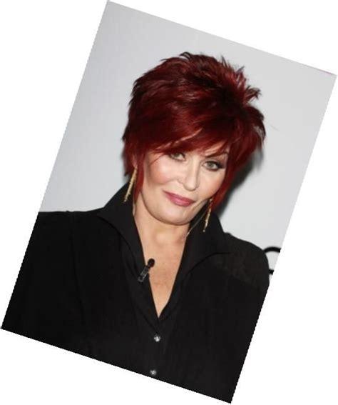 sharon osbourne new haircut pixie 34 best love sharons hair images on pinterest short