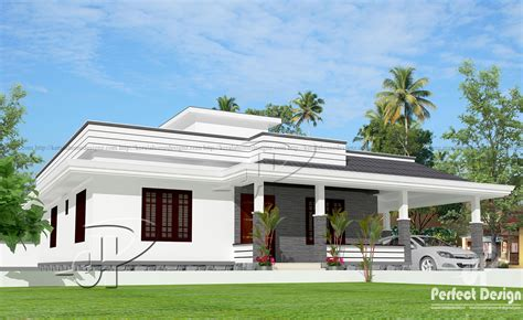 home design for single floor 1280 sq ft single floor home kerala home design