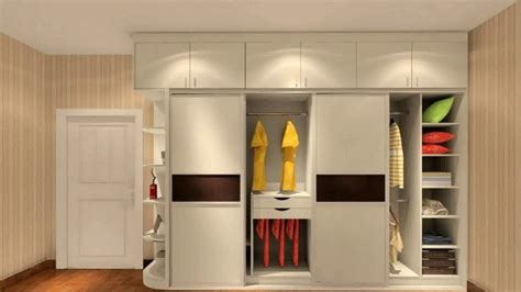 sliding door wardrobe designs  bedroom indian