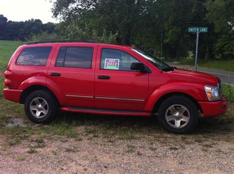 dodge durango seats for sale buy used 2004 dodge durango color rear dvd 3 row