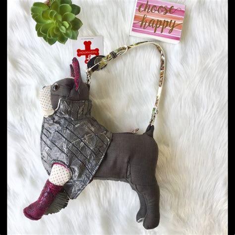 fuzzy nation pug purse 52 fuzzy nation handbags nwt fuzzy nation pug purse from s