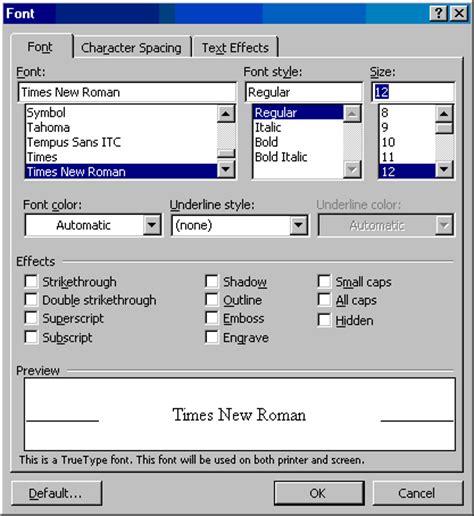 tasc colors az fonts dialog box