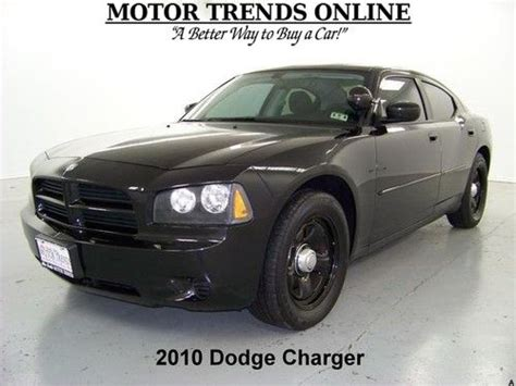 2010 dodge charger interceptor purchase used charger interceptor hemi spotlight