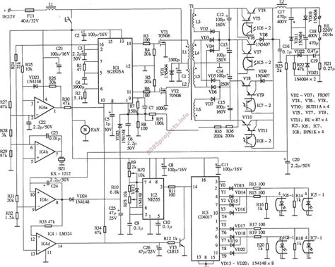 inductive load circuit free electronic circuits 8085 projects 187 archive 300w inverter circuit with inductive