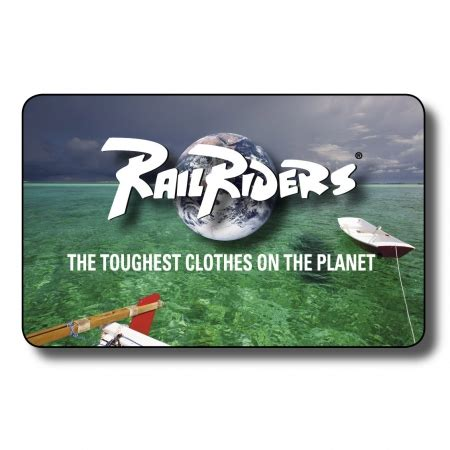 Travel Gift Cards - railriders gift card adventurous gift cards for outdoor clothing travel clothes