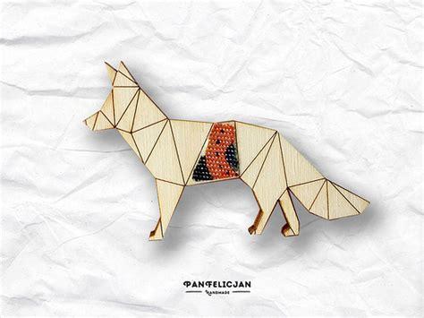 origami golden retriever broszka origami golden retriever broszki pakamera pl