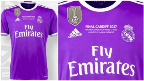 Jersey Real Madrid Home Cardiff Ucl 2017 Grade Ori confirmed real madrid s kit for the chions league