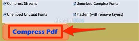 compress pdf pdfaid comprimere file pdf