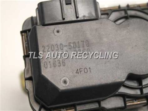 electronic throttle control 2002 toyota tundra transmission control 2002 toyota tundra throttle body assy 4 722030 50170 used a grade