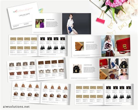 Catalog Template Word Wholesale Catalog Template Product Catalog Indesign