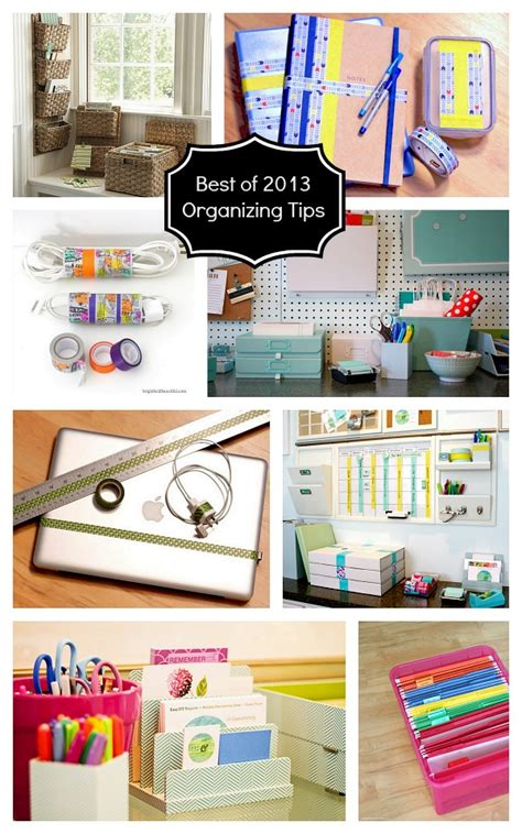 best organizing tips 8 organizing tips for home office best of 2013 organization