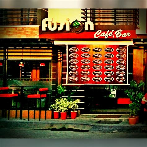 cafe la fusione fusion cafe bar texan in the philippines