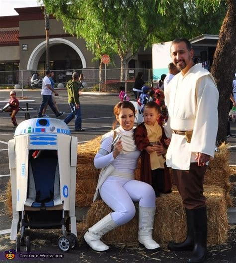 star wars  family halloween costume  sew diy costumes