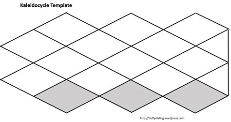Printable Kaleidocycle Template | class activity duffy stirling s teaching stuff