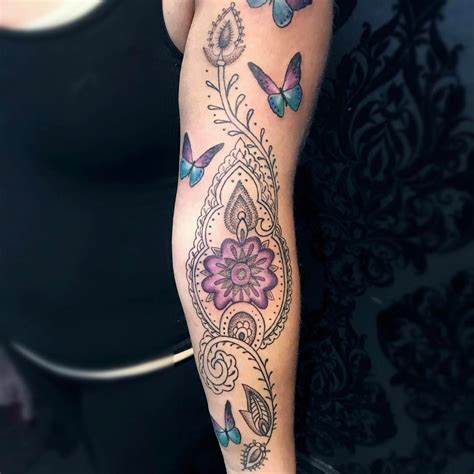55 traditional paisley tattoo designs tenderness