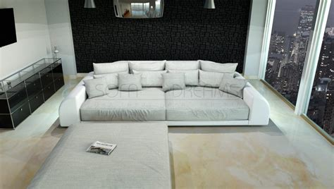 Big Sofa Mit Ottomane by Big Sofa Miami Megasofa With Lighting Bigsofa Mega
