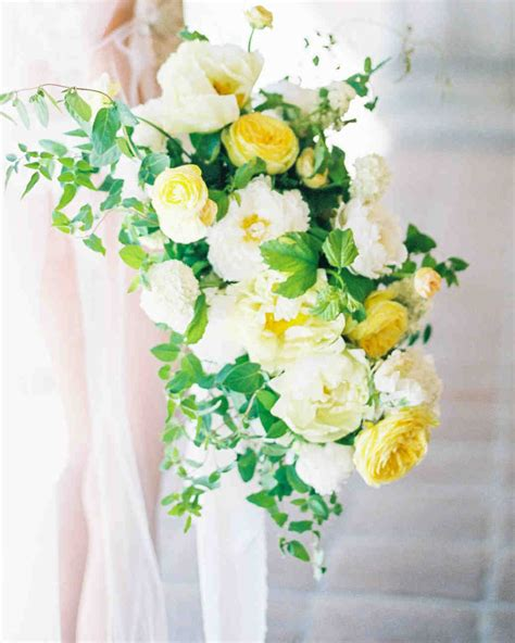 Wedding Bouquet Yellow by 52 Ideas For Your Wedding Bouquet Martha Stewart