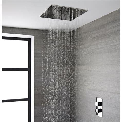soffione doccia soffitto soffione doccia da incasso quadrato a soffitto quadrato