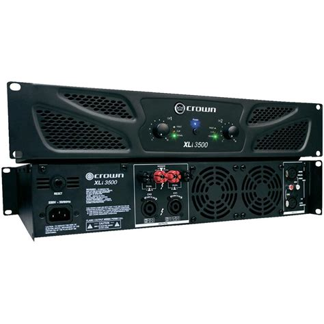Power Lifier Crown Xli 2500 pa lifier crown xli 3500 rms power per channel at 4 ohm 1350 w from conrad electronic uk