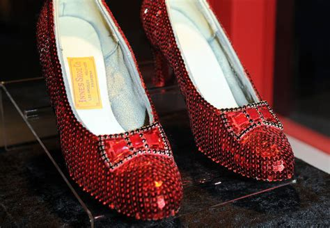 The Of The Stolen Slippers by Judy Garland Fan Offers 1 Million Reward For Return Of