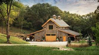 A Frame Kit Homes Barn Wood Home Great Plains Western Horse Barn Home