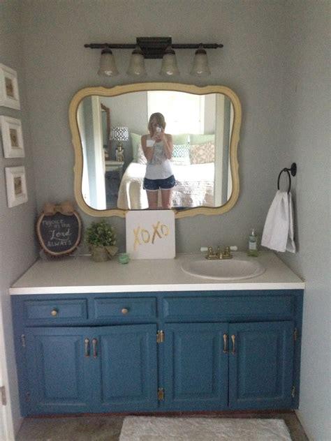 spray paint bathroom vanity painting master bathroom vanity with chalk paint all