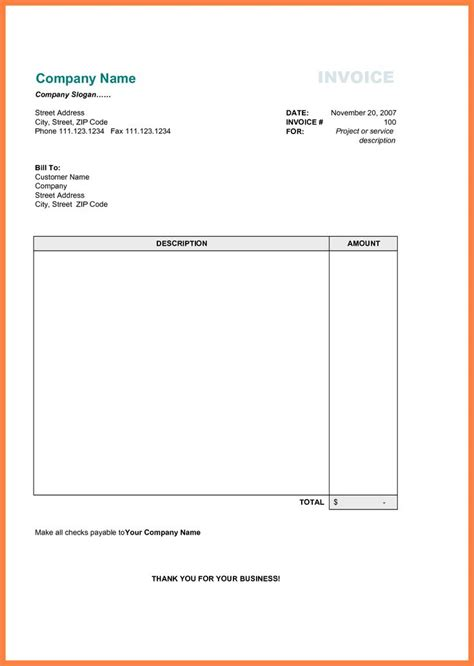 best 25 printable invoice ideas on pinterest invoice