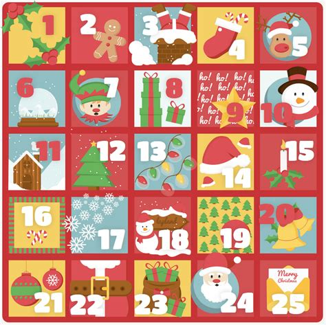 the quot how lovely are thy branches quot advent calendar out of