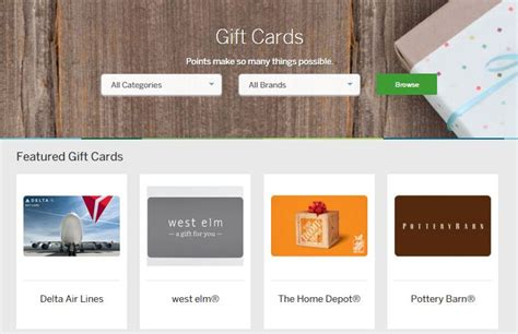 Amex Points Gift Cards - what to do with membership rewards points if you don t travel