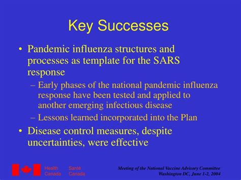 pandemic preparedness plan template ppt pandemic influenza preparedness in canada powerpoint