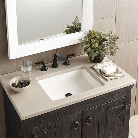 new bathroom sink nipomo rectangular nativestone 174 bathroom sink native trails