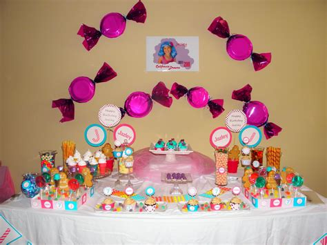 birthday decorations home candyland theme decorations the centerpieces and table